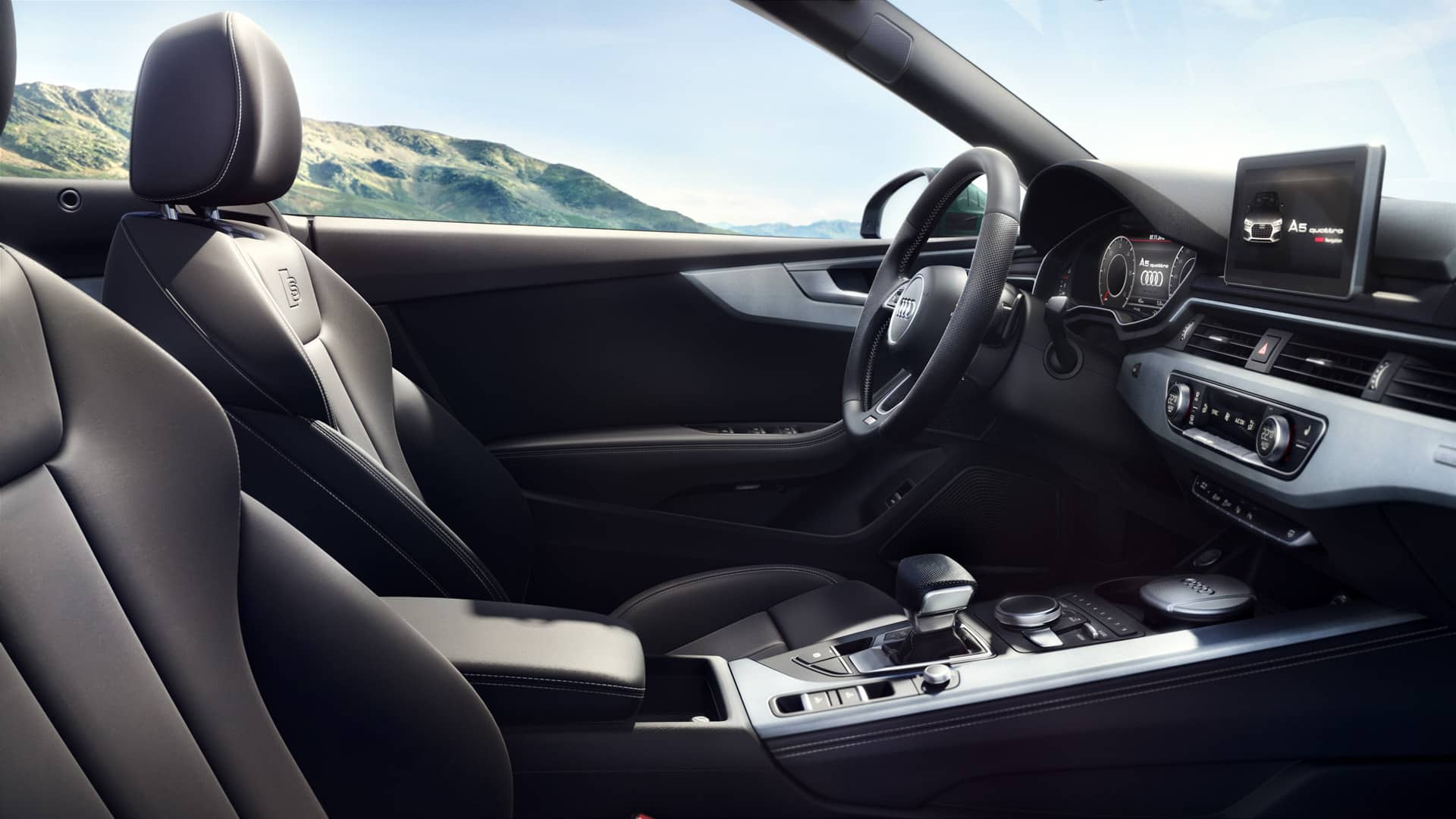 wins you over as soon as you get in the new interior architecture offers more space for drivers and passengers alike