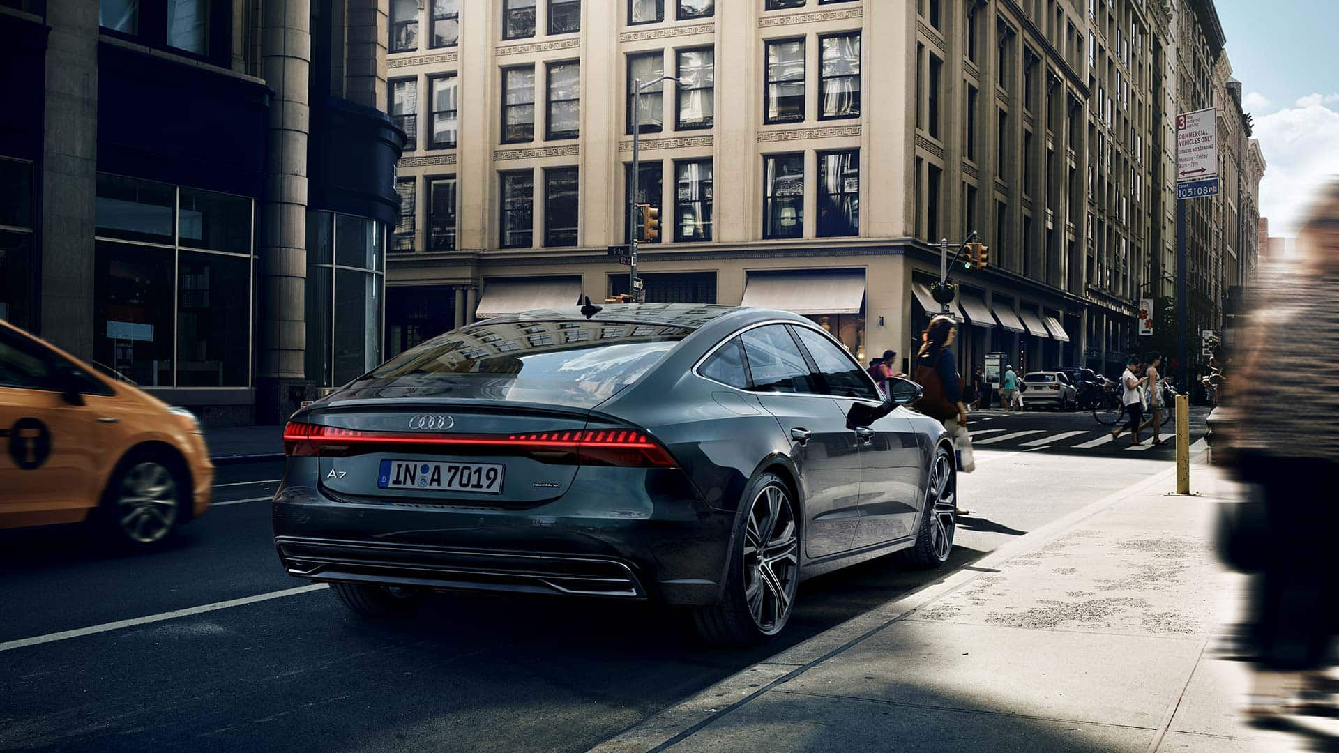 The New A7 Sportback A7 Audi Ireland