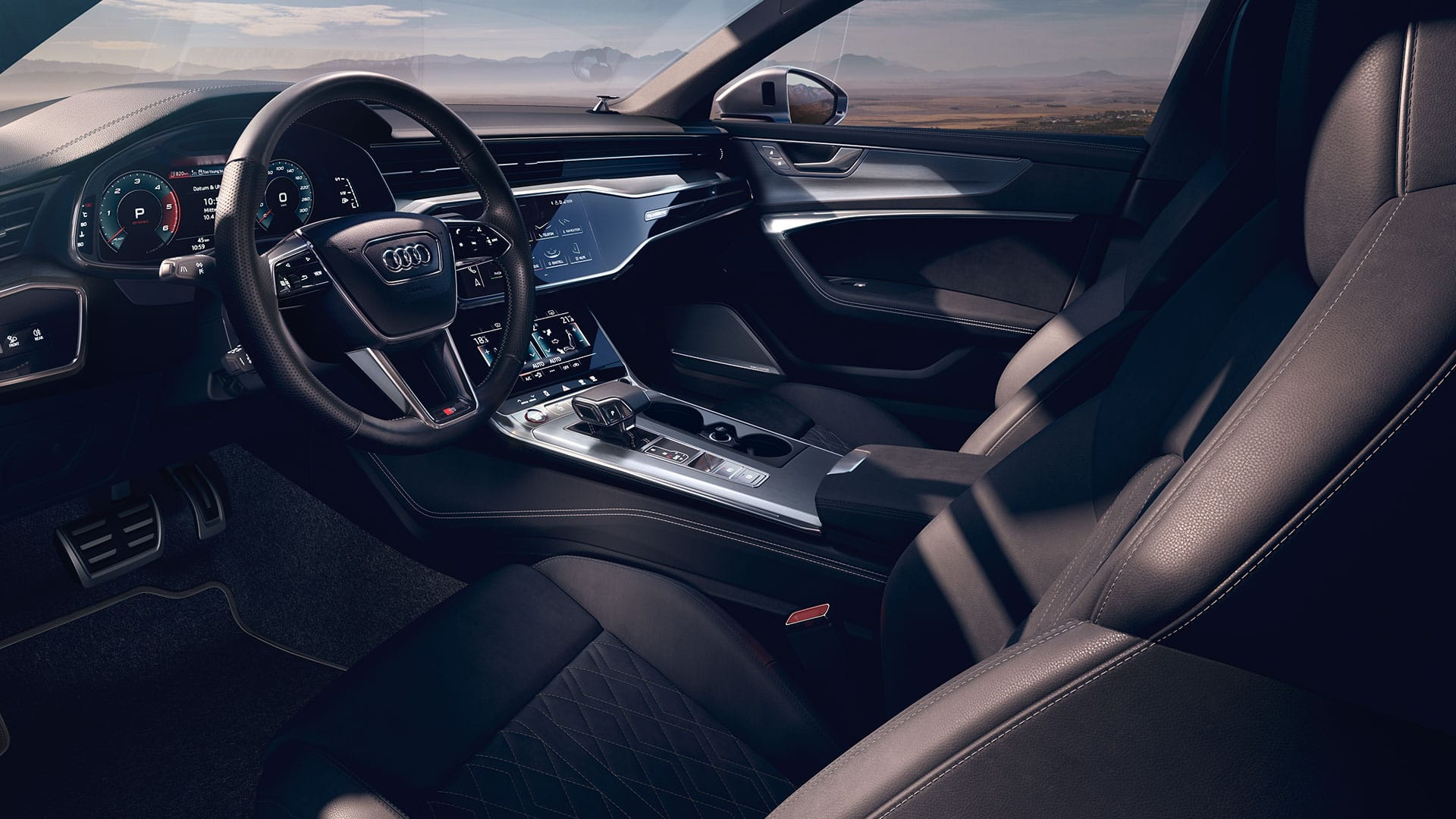 Interior S6 Saloon