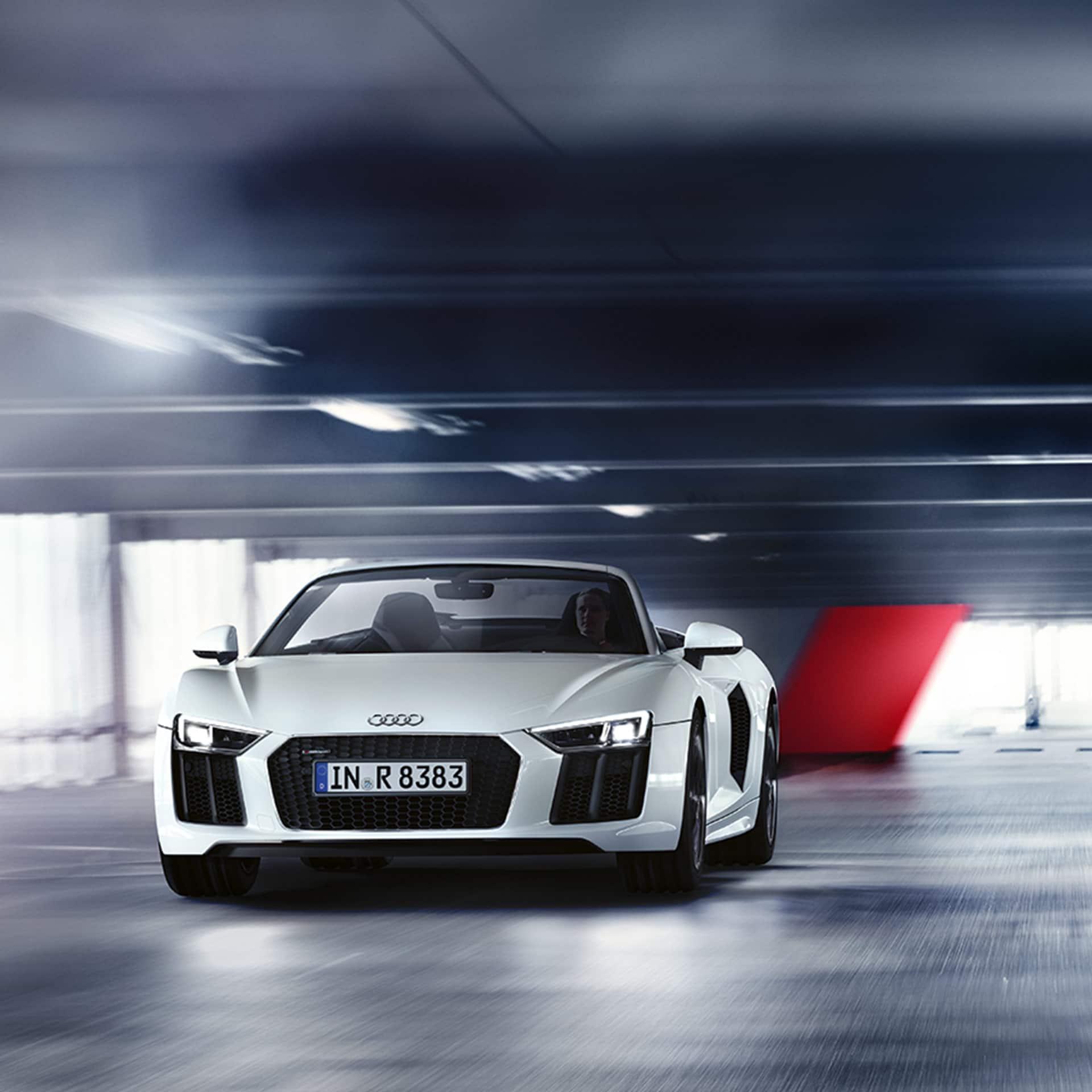 Audi R8: R8 Spyder V10 RWS > R8 > Audi Ireland